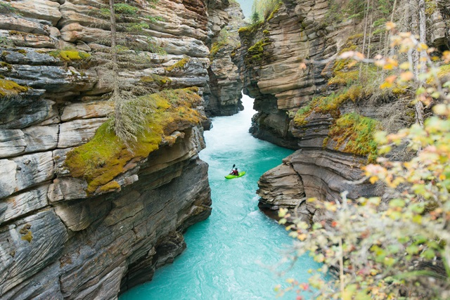 Picture of athabasca falls in jasper national park in alberta canada - Restoring The Athabasca River Trumps Building Energy East