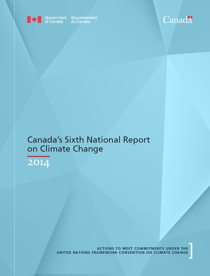 Canada 6trh Report on CO2