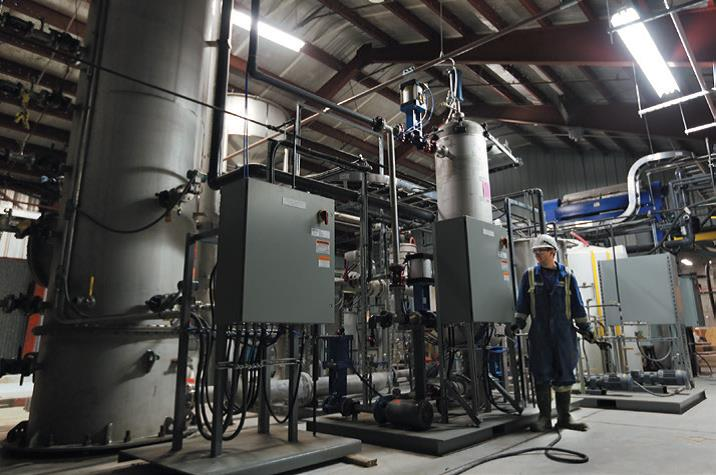 Carbon Engineering CO2 capture plant