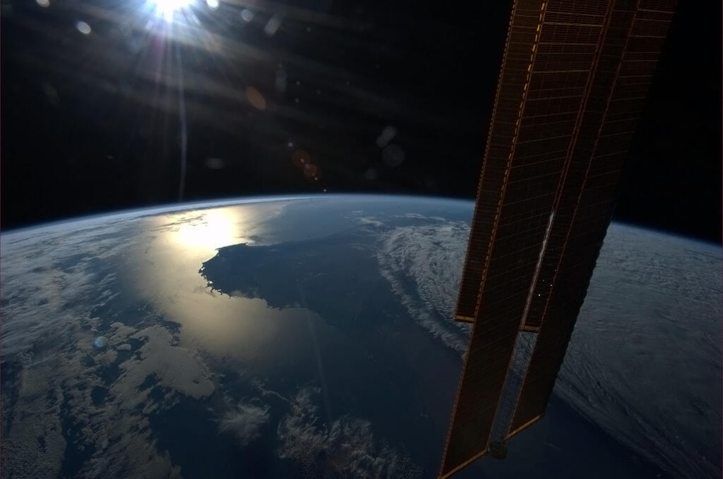 Hadfield sun setting over southwestern Australia