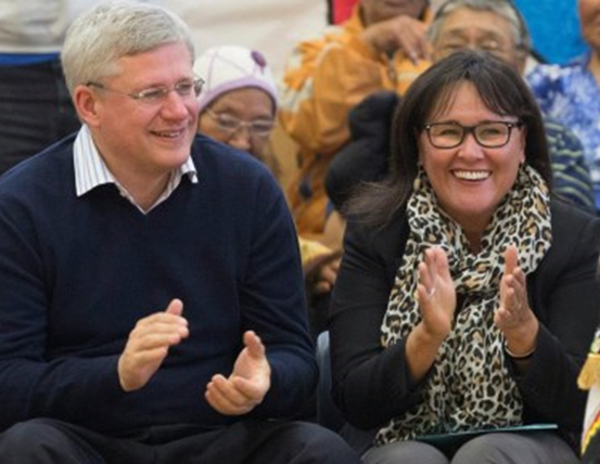 Harper and Aglukkaq - postmedia news