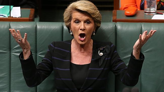 Julie Bishop commenting on Nauru claims 2 news com au