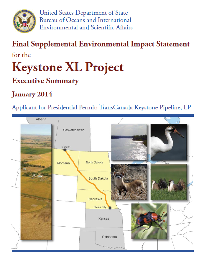 Keystone report US State Jan 2014