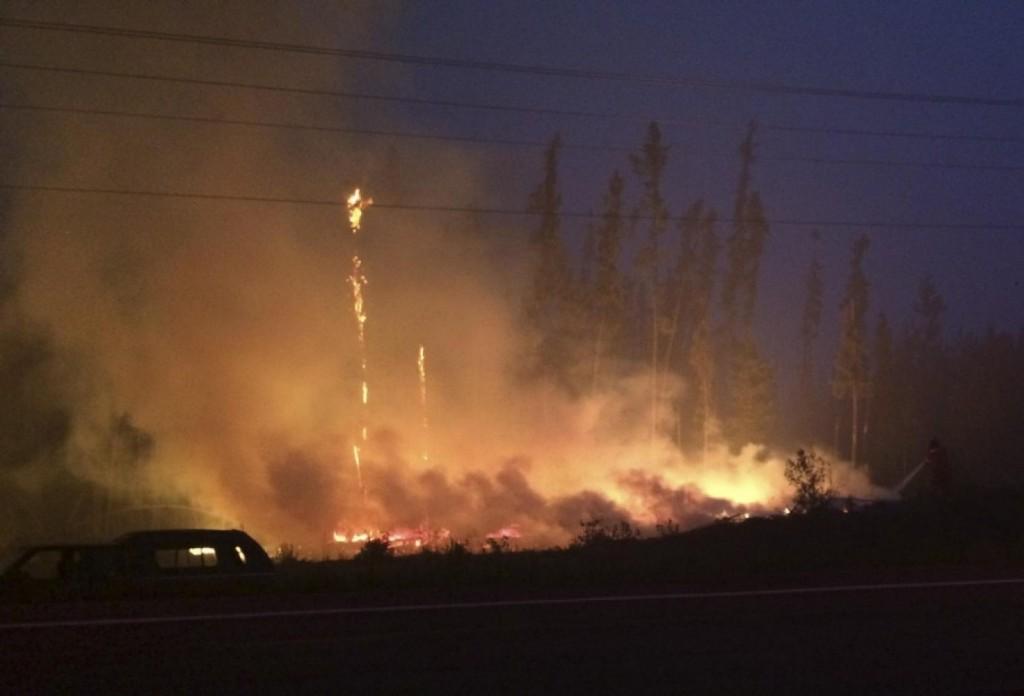 LaRonge fire Saskatchewan