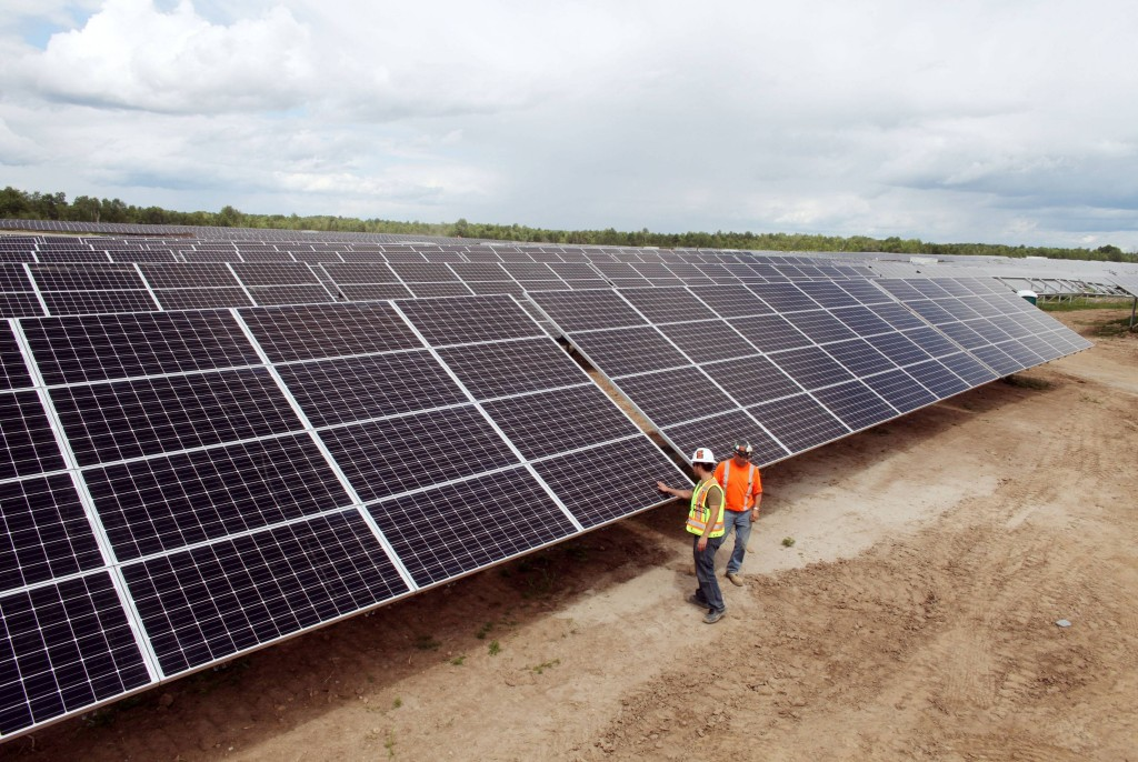 Newboro1 solar farm Ontario David Chan Globe & Mail