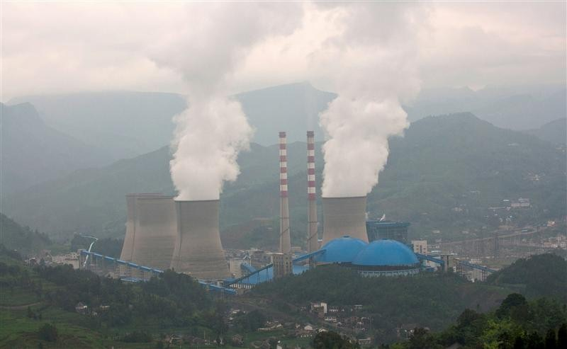 Pannan Coal Fired Plant in China