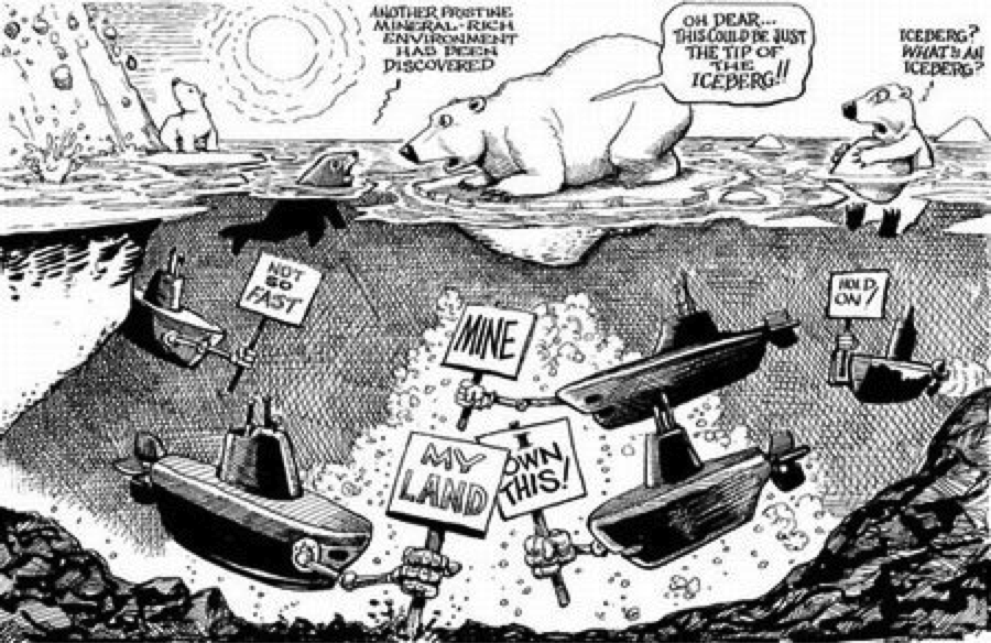 Who-owns-the-Arctic cartoon