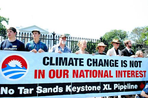 tar sands protest